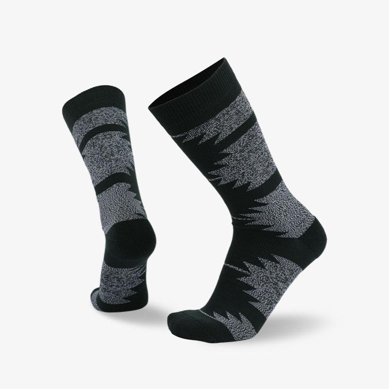 144N 深灰色普通袜