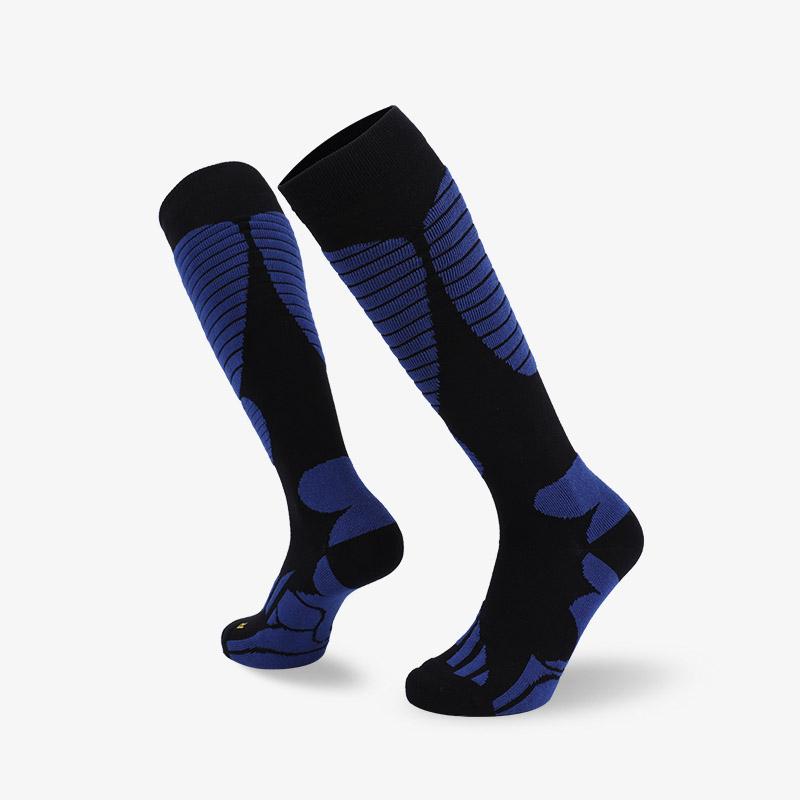 144N 长筒黑蓝滑雪袜