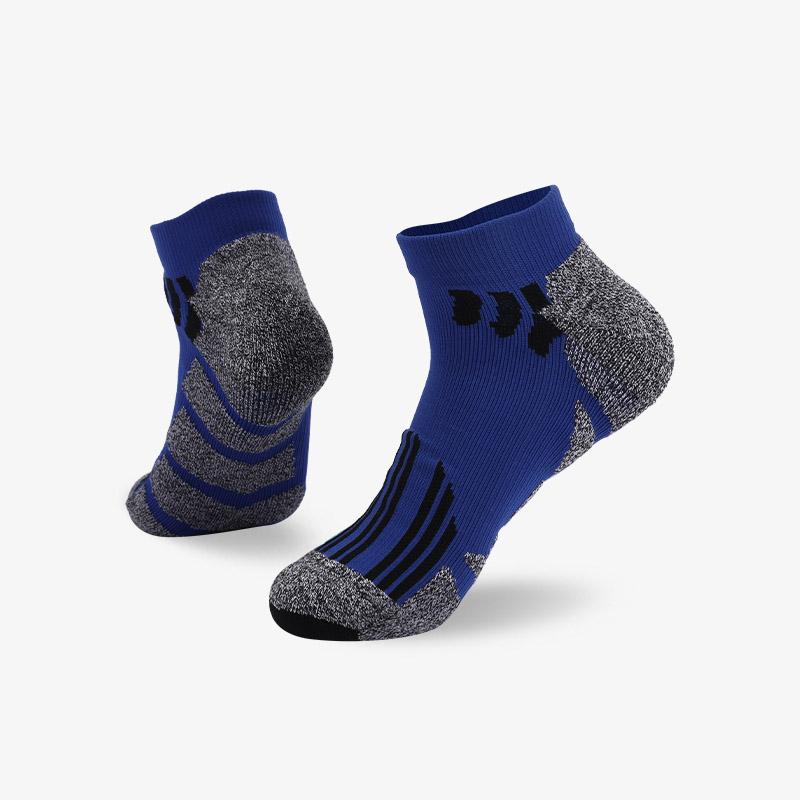 144N 蓝灰运动短袜