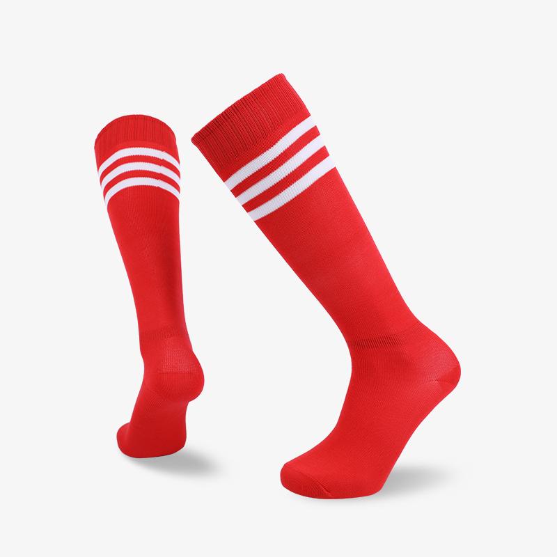 144N 长筒运动红袜