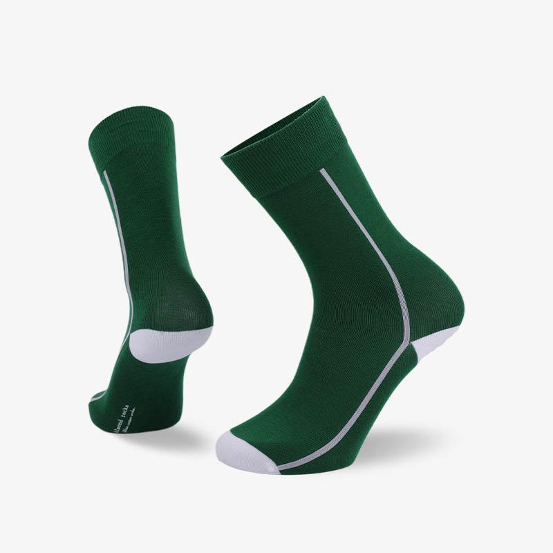 200N 绿色普通袜