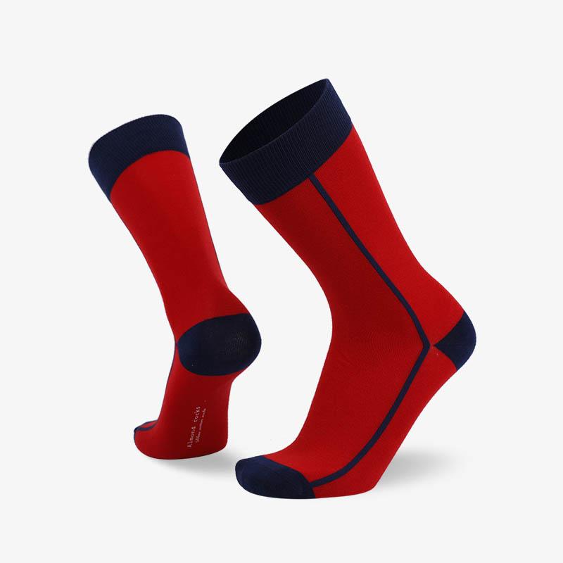 200N 红色普通袜