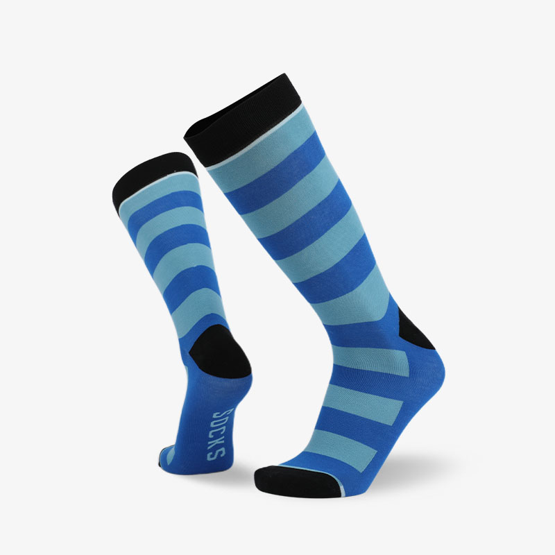 200N 青蓝条纹普通袜