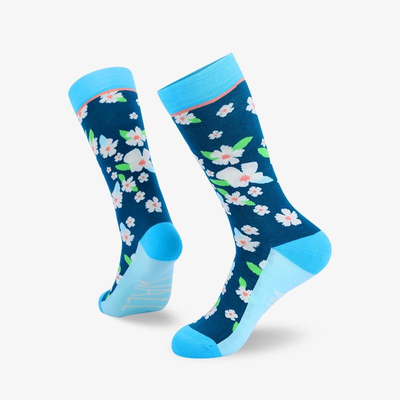 200N 小碎花提花系列梨牌袜