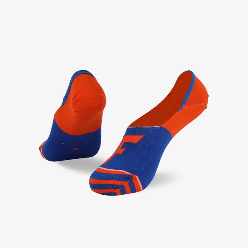 200N 橙蓝色隐形袜系列