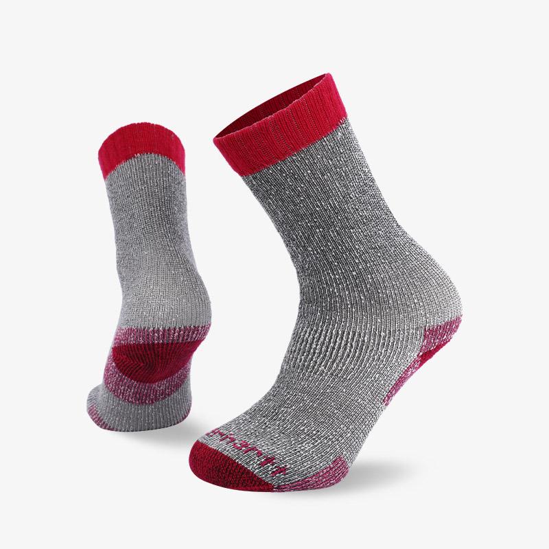 84N 红灰色登山袜