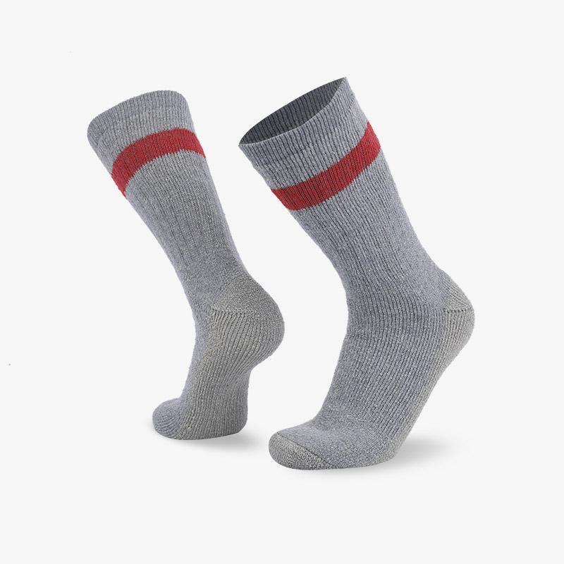 84N 浅灰色长筒登山袜