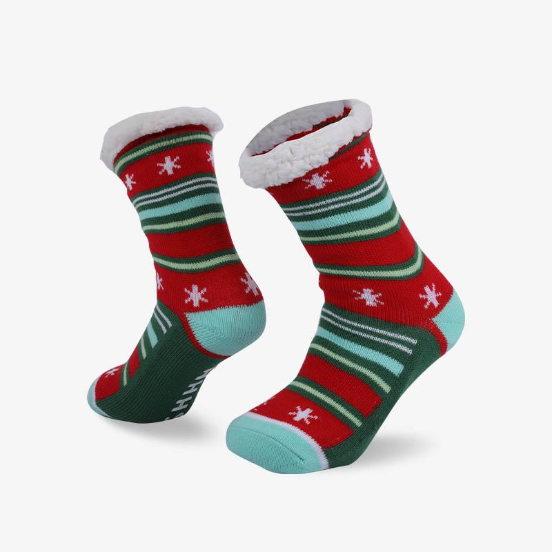 96N 圣诞雪地袜